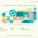 Vidoza-Upload a video-Host a video-Ear-Money-CanPPPal-Minimum 4 $ -ро бозпас гиред