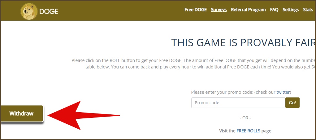 Free Free-Doge.com Faucet Dogecoin